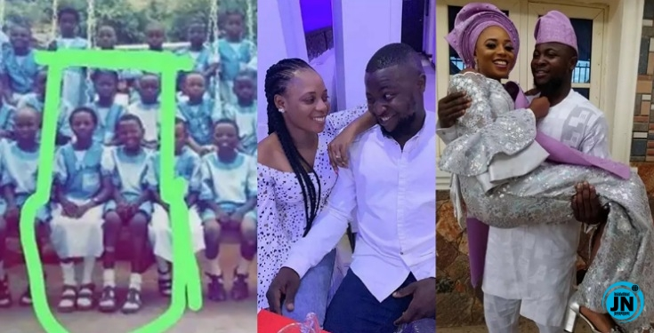 Image result for Former primary school classmates set to become life partners (photos)